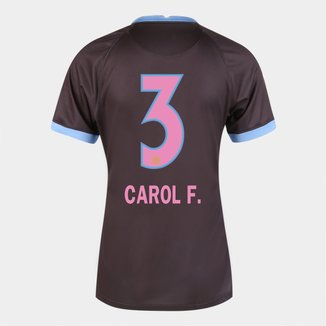 Camisa Corinthians III 20/21  Carol F.  N° 3 Torcedor Nike Feminina
