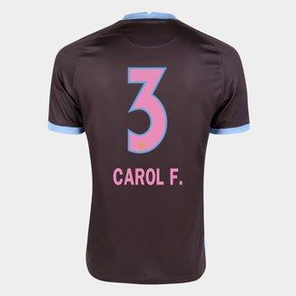 Camisa Corinthians III 20/21 Carol F.  N° 3 Torcedor Nike Masculina