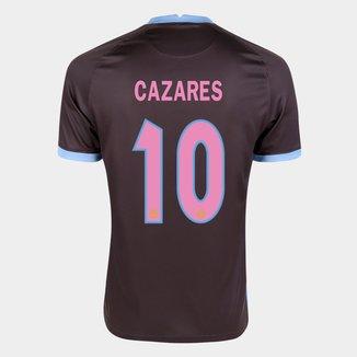 Camisa Corinthians III 20/21 Cazares  Nº 10 Torcedor Nike Masculina