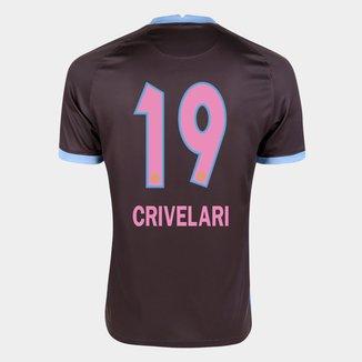 Camisa Corinthians III 20/21 Crivelari N° 19 Torcedor Nike Masculina
