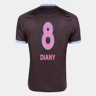 Camisa Corinthians III 20/21 Diany N° 8   Torcedor Nike Masculina