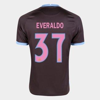 Camisa Corinthians III 20/21  Everaldo Nº  37 Torcedor Nike Masculina