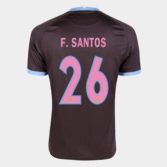 Camisa Corinthians III 20/21 F. Santos Nº  26  Torcedor Nike Masculina