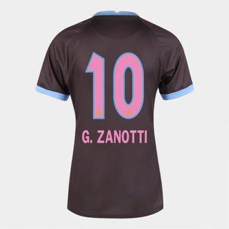 Camisa Corinthians III 20/21  G. Zanotti N° 10 Torcedor Nike Feminina