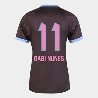 Camisa Corinthians III 20/21  Gabi Nunes N° 11 Torcedor Nike Feminina