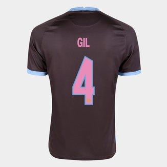 Camisa Corinthians III 20/21 Gil Nº  4  Torcedor Nike Masculina