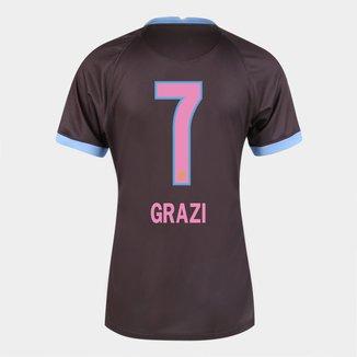 Camisa Corinthians III 20/21 Grazi  N° 7 Torcedor Nike Feminina