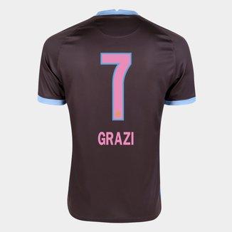 Camisa Corinthians III 20/21 Grazi  N° 7 Torcedor Nike Masculina