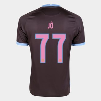 Camisa Corinthians III 20/21 Jô  Nº  77  Torcedor Nike Masculina