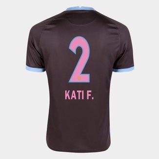 Camisa Corinthians III 20/21 Kati F.  N° 2 Torcedor Nike Masculina