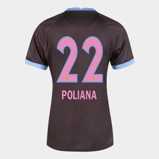 Camisa Corinthians III 20/21  Poliana N° 22   Torcedor Nike Feminina