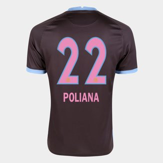 Camisa Corinthians III 20/21 Poliana N° 22  Torcedor Nike Masculina