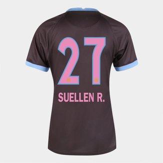 Camisa Corinthians III 20/21  Suellen R.  N° 27 Torcedor Nike Feminina