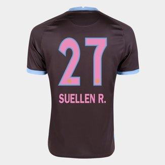 Camisa Corinthians III 20/21 Suellen R.  N° 27  Torcedor Nike Masculina