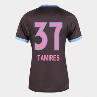 Camisa Corinthians III 20/21  Tamires N° 37 -Torcedor Nike Feminina