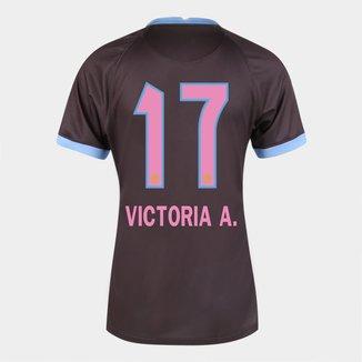 Camisa Corinthians III 20/21  Victoria A. N° 17 - Torcedor Nike Feminina