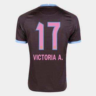 Camisa Corinthians III 20/21 Victoria A. N° 17 Torcedor Nike Masculina