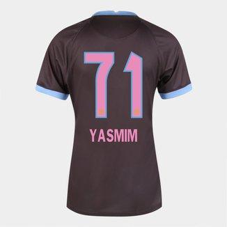 Camisa Corinthians III 20/21  Yasmim N° 71   Torcedor Nike Feminina