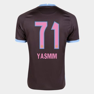 Camisa Corinthians III 20/21  Yasmim N° 71 Torcedor Nike Masculina