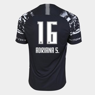 Camisa Corinthians III Invasões 19/20 Adriana Nº 16 - Torcedor Nike Masculina