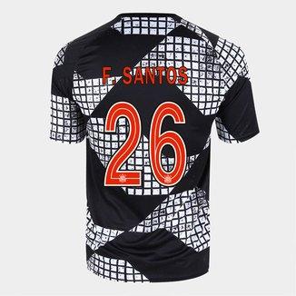 Camisa Corinthians IV 20/21 F. Santos Nº 26 Nike Masculina