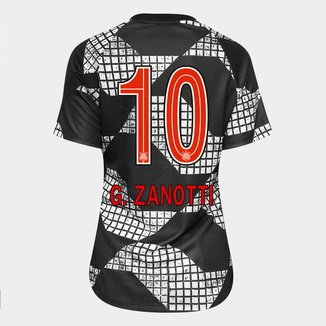 Camisa Corinthians IV 20/21 G. Zanotti N°10 Nike Feminina