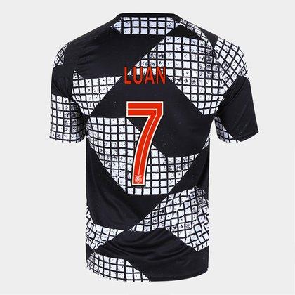 Camisa Corinthians IV 20/21 Luan Nº 7 Nike Masculina