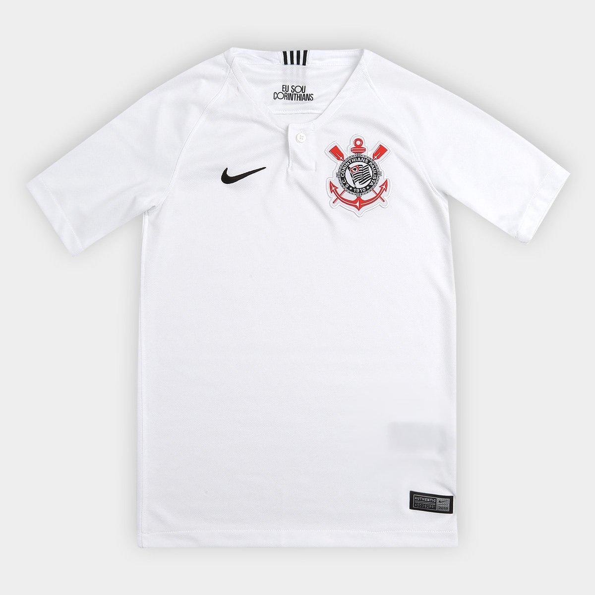 75a35d3588cf9 Camisa Corinthians Juvenil I 18 19 s n° - Torcedor Nike - Compre Agora