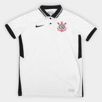 Camisa Corinthians Juvenil I 20/21 s/n° Torcedor Nike