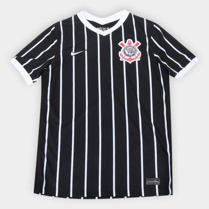 Camisa Corinthians Juvenil II 20/21 s/n° Torcedor Nike