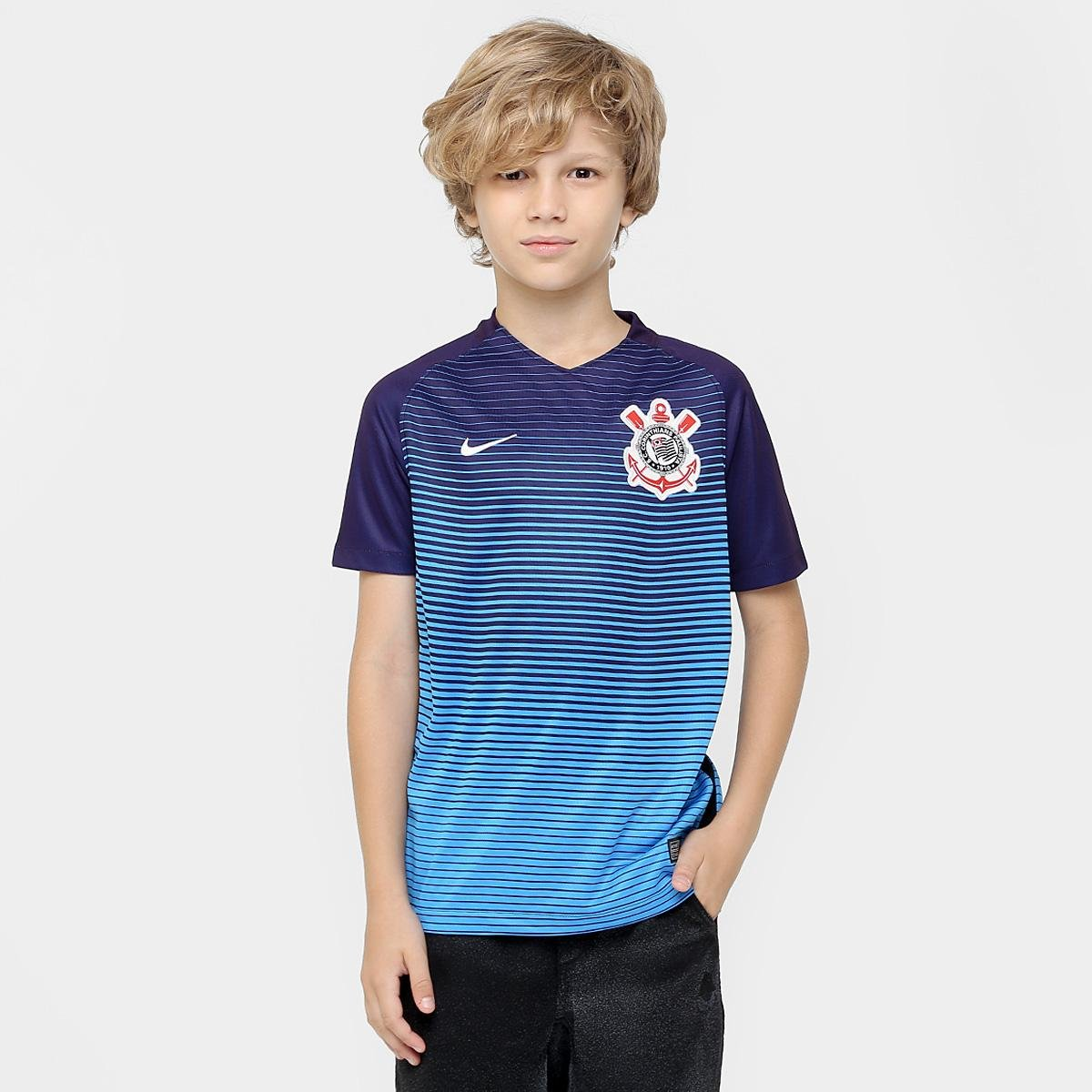457eaffd12cc0 Camisa Corinthians Juvenil III 2016 s nº Torcedor Nike - Compre Agora