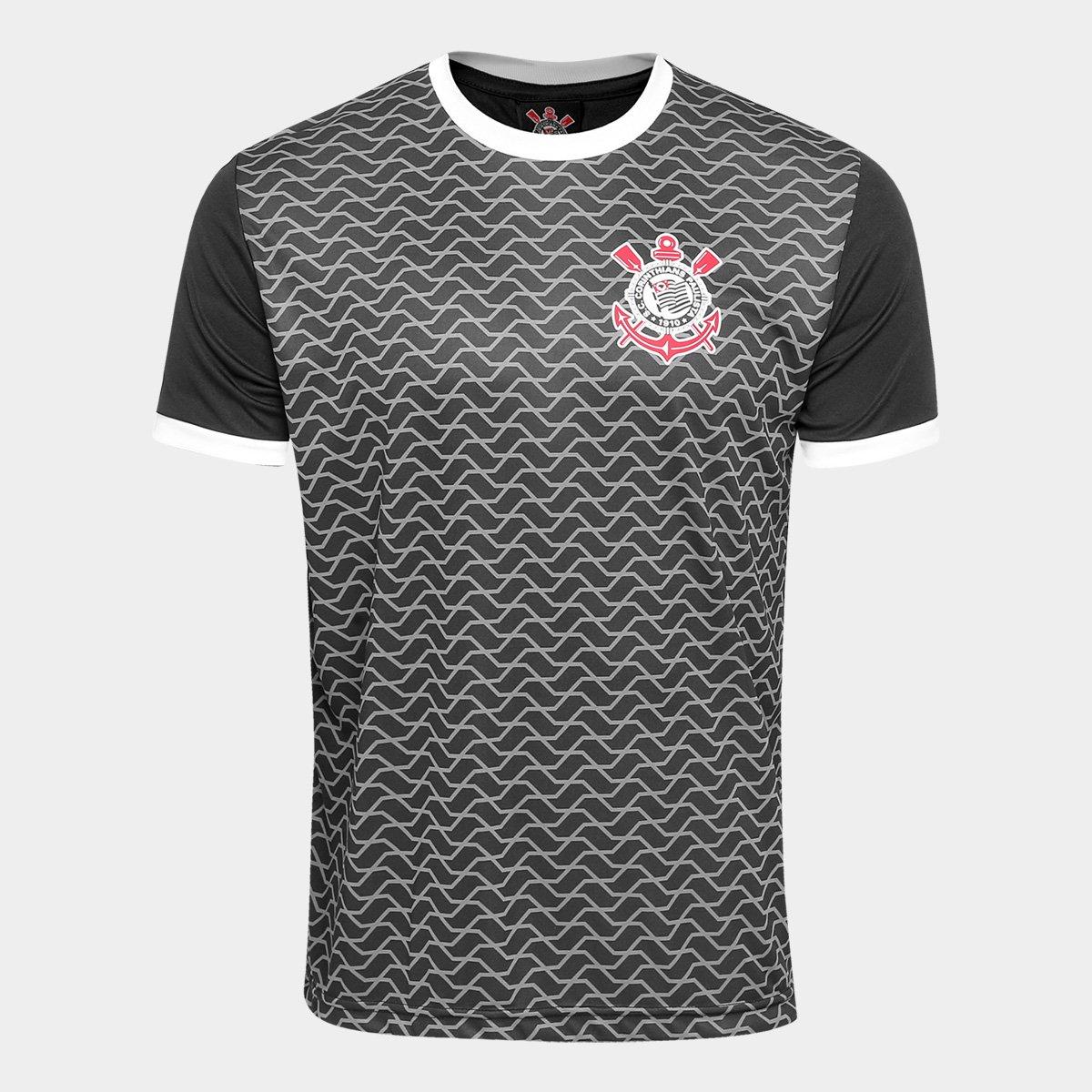 Camisa Corinthians Libertados Masculina - Preto - Compre Agora ... 66e1b7328cd11