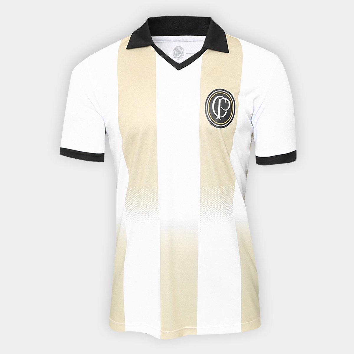 8c952ad8125 Camisa Corinthians n° 9 Centenário - Edição Limitada Masculina - Branco e  Preto - Compre Agora