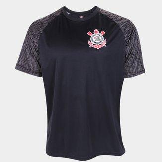 Camisa Corinthians Raglan Sublime Masculina