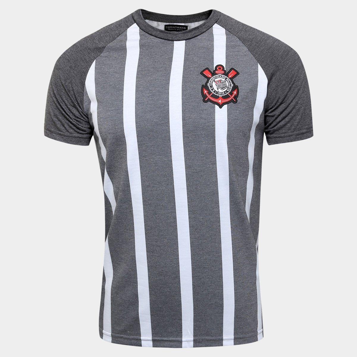Camisa Corinthians Retrô Torcedor Masculina - Compre Agora  e19056b397e80