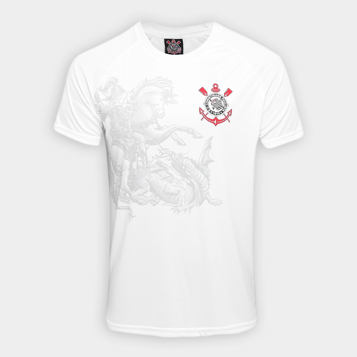 Camisa Corinthians São Jorge Edição Limitada Masculina - Branco ... a020dc9e481