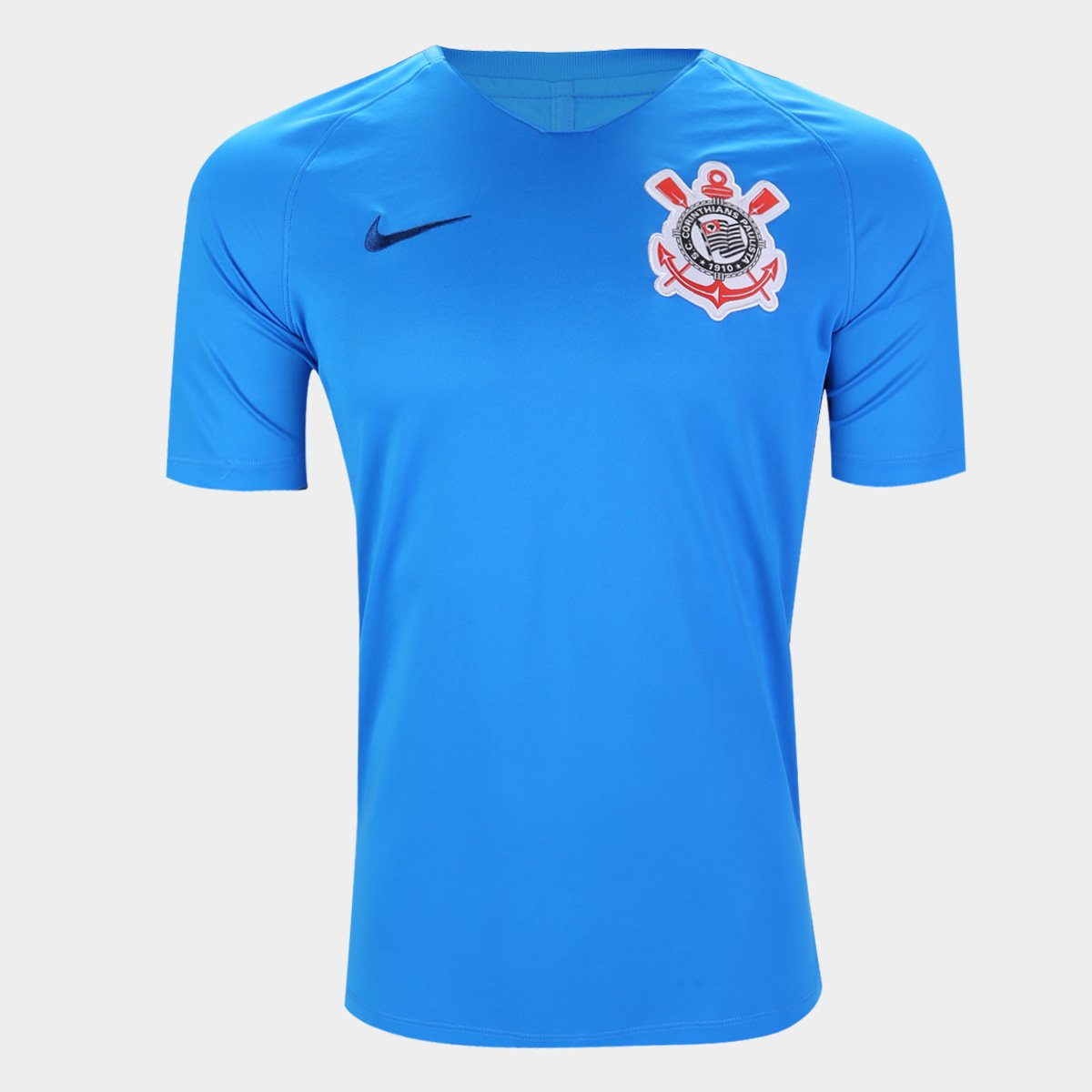 d7cc257d0b5f6 Camisa Corinthians Treino 19 20 Nike Masculina - Azul Royal - Compre ...