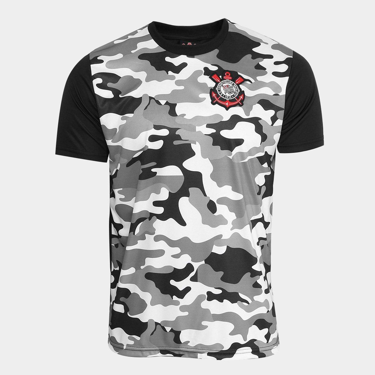 828c31d56 Camisa Corinthians Warriors C  Patch Masculina - Compre Agora