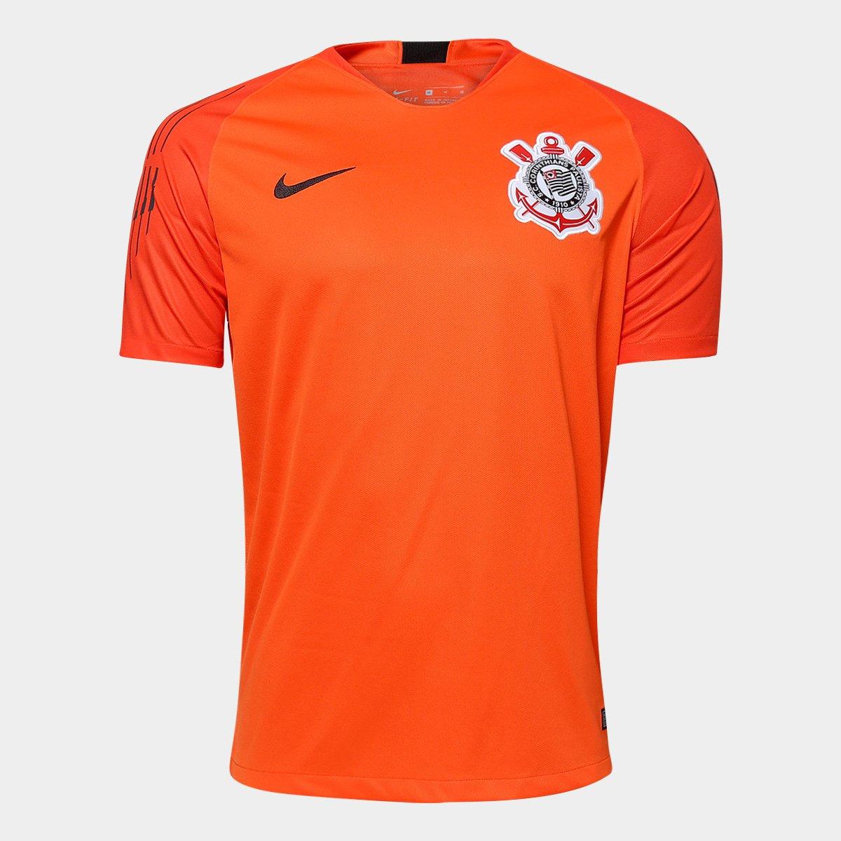 Camisa de Goleiro Corinthians 2018 s n° - Torcedor Nike Masculina ... 2a870ba307edf