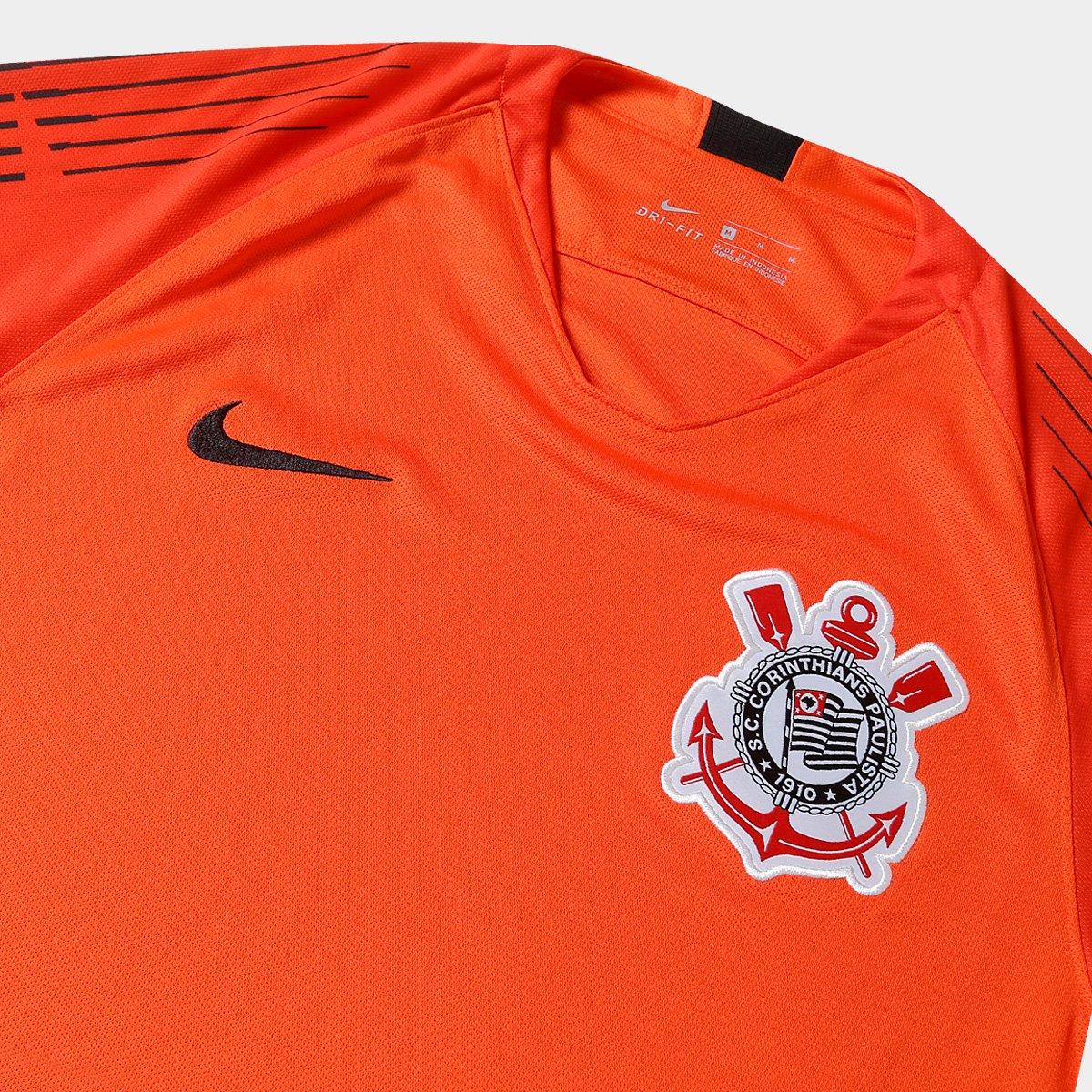 f9f54c451b Camisa de Goleiro Corinthians 2018 s n° - Torcedor Nike Masculina ...