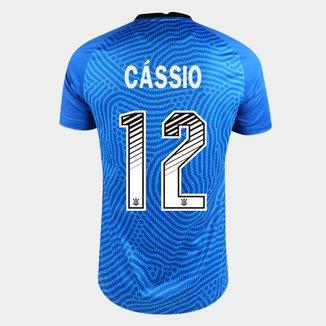 Camisa de Goleiro Corinthians 20/21 Cássio N° 12 Torcedor Nike Masculina