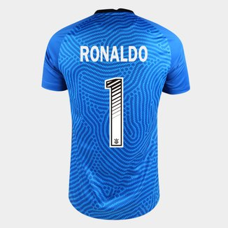 Camisa de Goleiro Corinthians 20/21 Ronaldo N° 1  Torcedor Nike Masculina