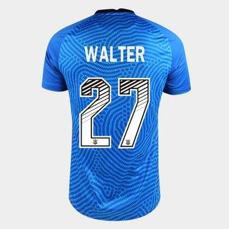 Camisa de Goleiro Corinthians 20/21 - Walter N° 27 - Torcedor Nike Masculina
