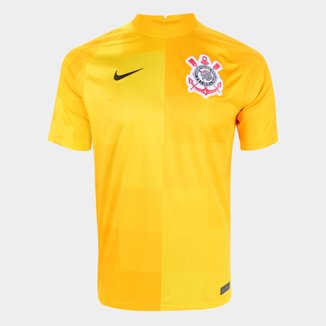 Camisa de Goleiro Corinthians 21/22 s/n° Torcedor Nike Masculina