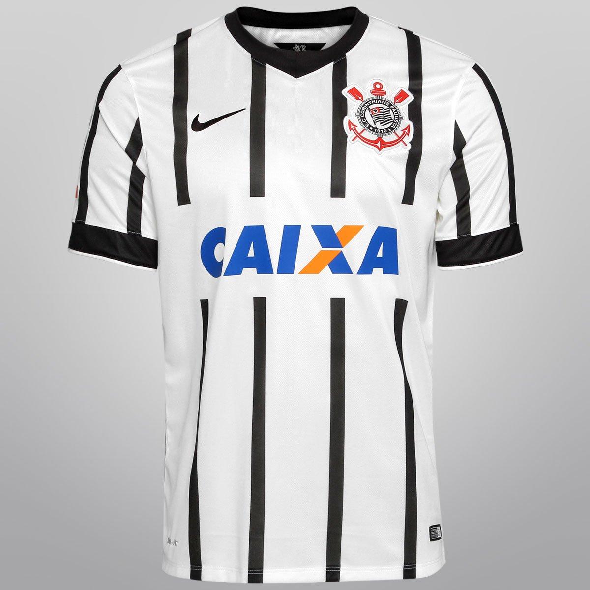Camisa Nike Corinthians I 14 15 s nº - Torcedor - Compre Agora ... 18890f3e8dcbe