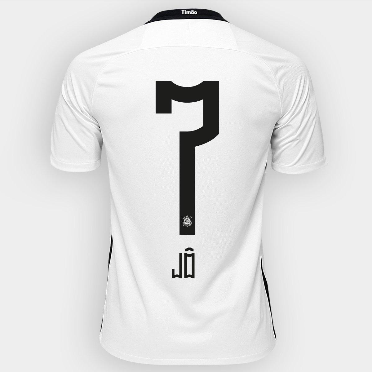 Camisa Nike Corinthians I 2016 nº 7 - Jô - Compre Agora  bee4d42d57653