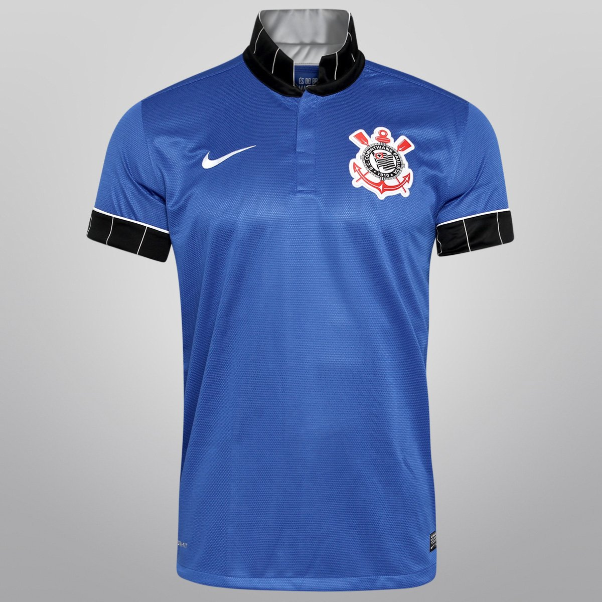 Camisa Nike Corinthians III 13 14 s nº - Compre Agora  a4e5dff394c3b