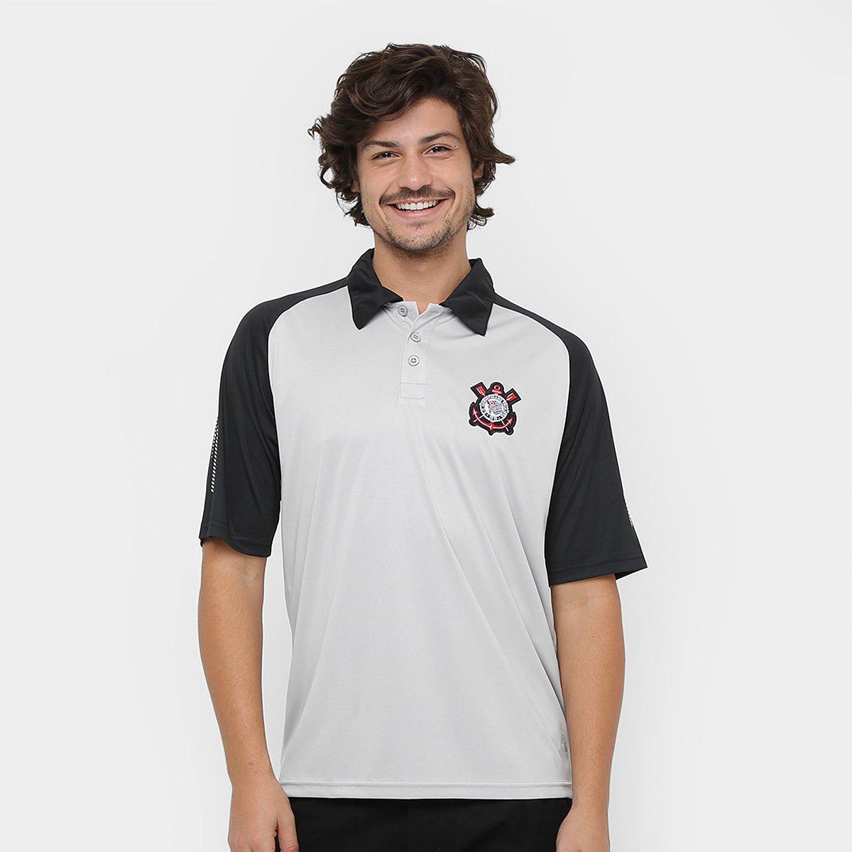 d8a90abc51a40 Camisa Polo Corinthians Bicampeão Mundial Masculina - Compre Agora ...