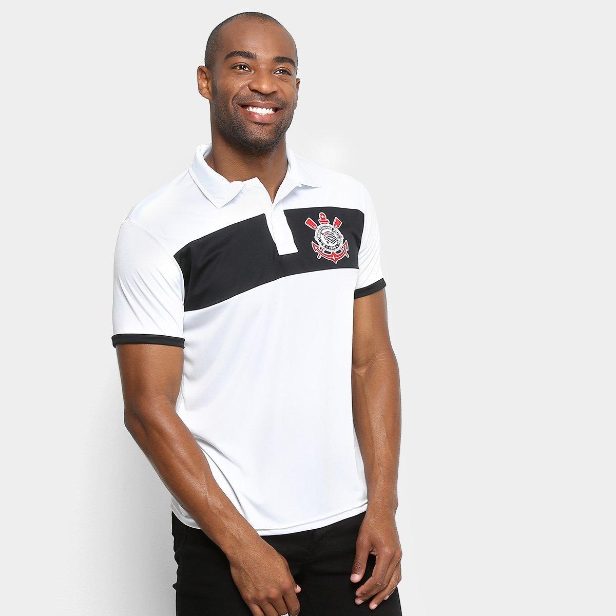 3cbe1403b49d3 Camisa Polo Corinthians Faixa Masculina - Compre Agora