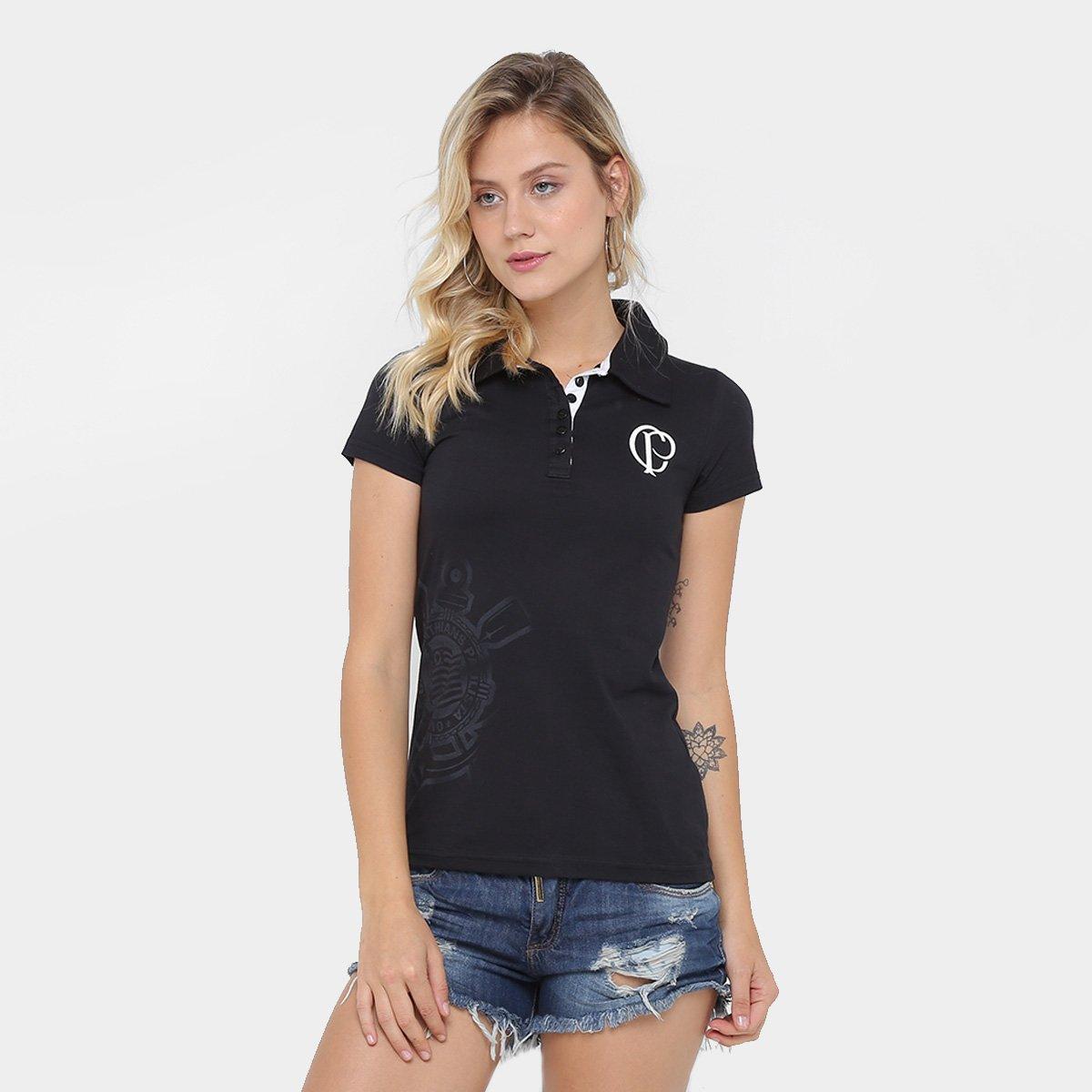 d78431f386 Camisa Polo Corinthians Feminina - Compre Agora